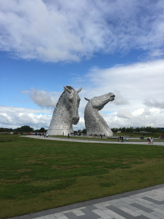 The Kelpies.Andy Scott. 2014.