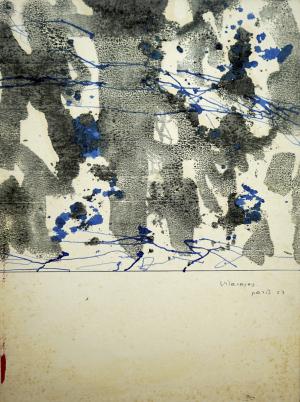 Vilacasas Planimetria N.10 - 35'5 x 26'5 - 23'5 x 26'5 - 1957 París